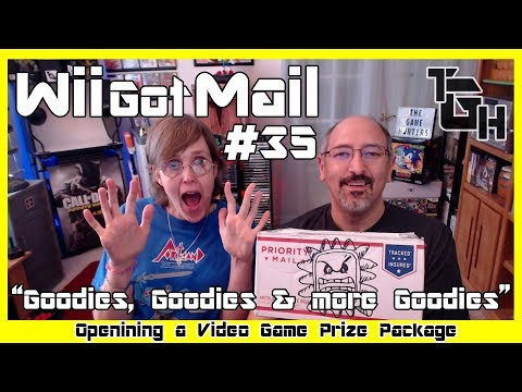 """Wii Got Mail #35 """"Goodies, Goodies and more Goodies"""" Opening a Video Game Prize Package!"""