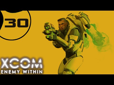 XCOM: Enemy Within - Part 30 - LARGE UFO  [Ironman Impossible Second Wave]