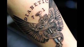 Type Diabetes Tattoo Designs
