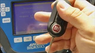 2012 Fiat 500 precoding a spare RKE key