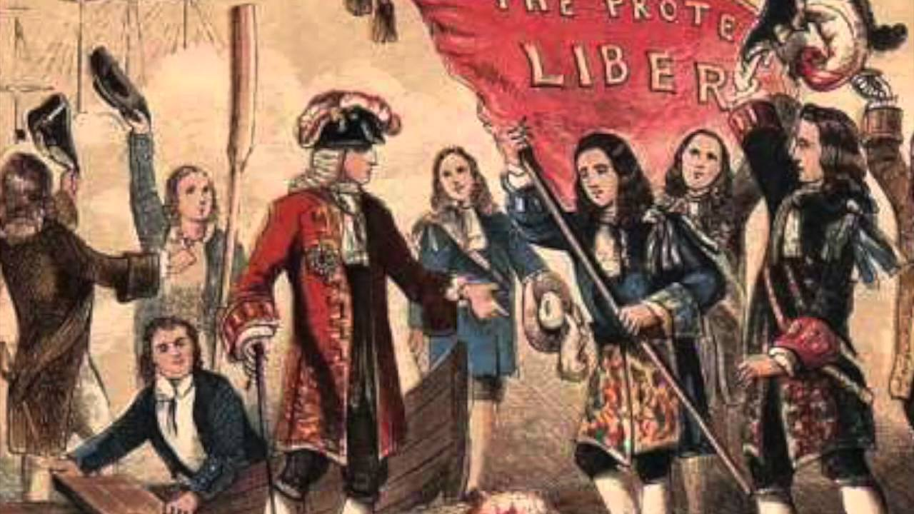 a flashback of the glorious revolution bloodless revolution The expression glorious revolution was first used by john hampden in late 1689, and is an expression that is still used by the british parliament the glorious revolution is also occasionally termed the bloodless revolution, albeit inaccurately.