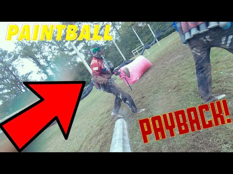 HE SHOT ME IN THE LEG POINT BLANK! (PAINTBALL)