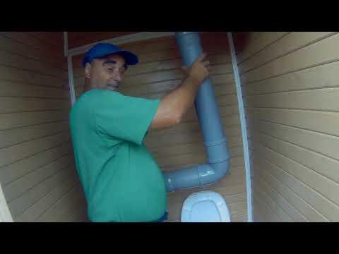 вентиляция в туалете дача под Архангельском