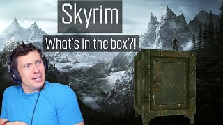 WHAT'S IN THE BOX?? | Skyrim 2020