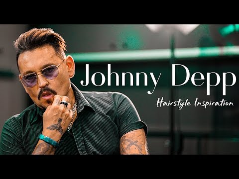 Johnny Depp HOLLYWOOD Inspierd Hairstyle. Men´s haircut inspiration