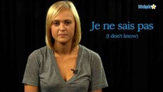 """How to Say """"I Don"""