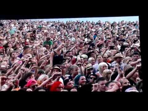 Green Day - Medley & Minority @ Rock The Beach Helsinki 26.06.2013