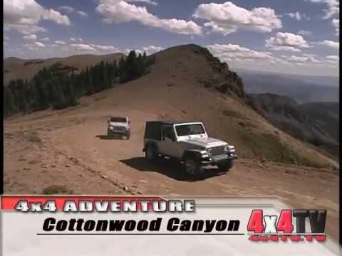 Paiute ATV Trail Bullion Canyon Cottonwood Canyon P3 - 4x4TV Adventure