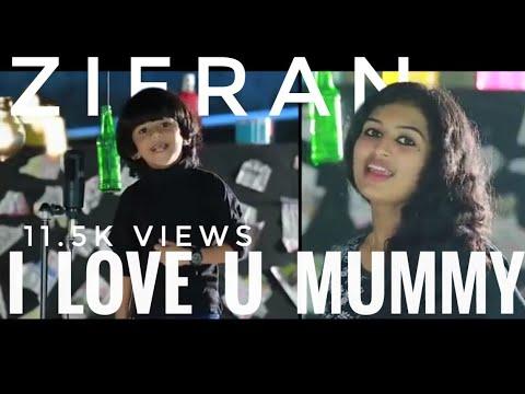 I Love U Mummy Kid Version WhatsApp Status