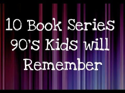 10 Book Series 90's Kids will Remember