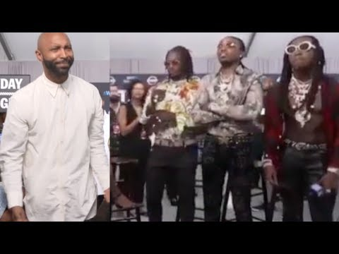 Migos and Joe Budden Nearly Come to Blows After Hostile Interview At The 2017 BET Awards
