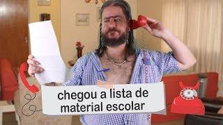 Plantão do Chico: Lista de Material Escolar #VoltaAsAulas #MaterialEscolar