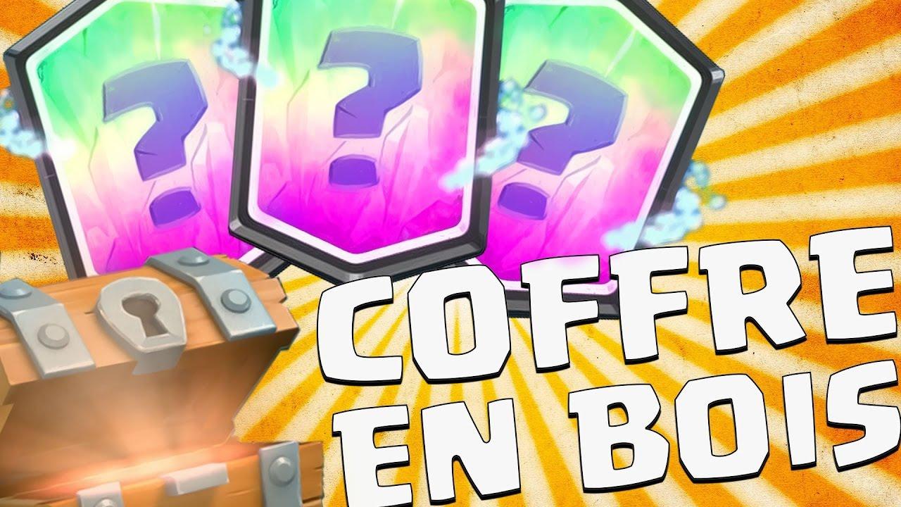 PACK OPENING GRATUIT- ELECTRO SORCIER DANS UN COFFRE EN BOIS!