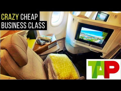 Review: TAP Portugal A330-900neo NEW Business Class