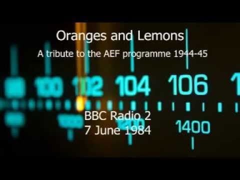 Oranges and Lemons - The AEF Programme