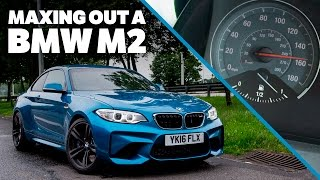 Maxing Out A BMW M2 On The Autobahn
