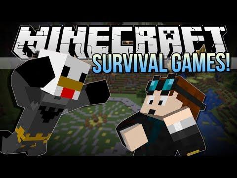 CHICKEN BATMAN!   Minecraft: Survival Games!