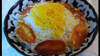 Белый пушистый рис по-ирански с Max Malkiel