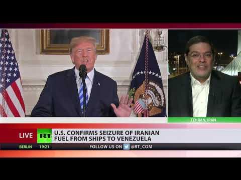 Prof Marandi: US stole Iranian oil, it can expect punishment
