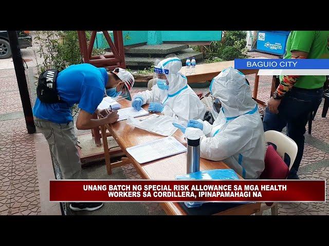 Kakulangan ng mga Health workers sa Baguio, sinusubukang punan ng pamahalaang lungsod