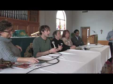 Inspirational Expo Panel Discussion. 'Raw Skull' (2012)