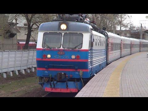 Вагоны Буревестник! ЧС2К-758 с пассажирским поездом №119 Саранск - Москва