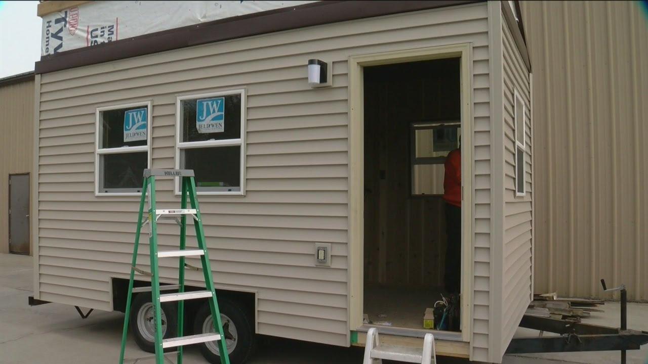 racine to build tiny homes for homeless veterans youtube
