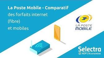 Comparatif des forfaits La Poste Mobile : les abonnements internet et mobile