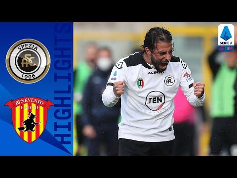 Spezia 1-1 Benevento | Verde risponde al vantaggio di Gaich | Serie A TIM