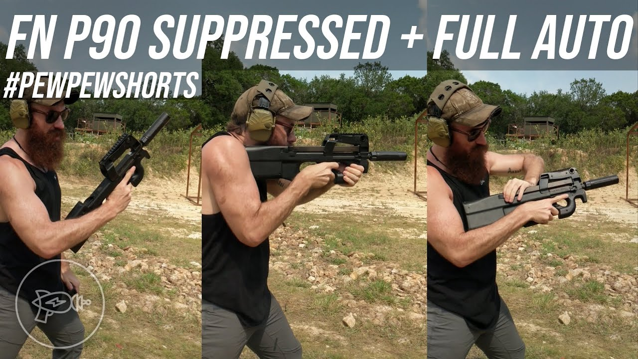 Another Bucketlist Gun Down 😎 FN P90 Full Auto! [Pew Pew Shorts]