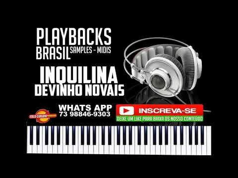 INQUILINA - PLAYBACK - DEVINHO NOVAES