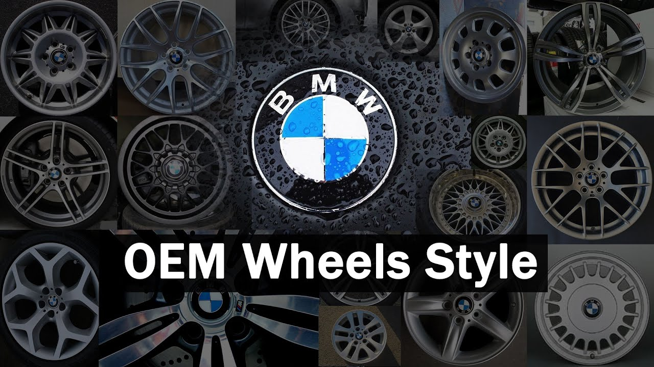 Oem Bmw Wheels >> BMW Wheels Styles OEM: Part 1 TRX1 - 101 - YouTube
