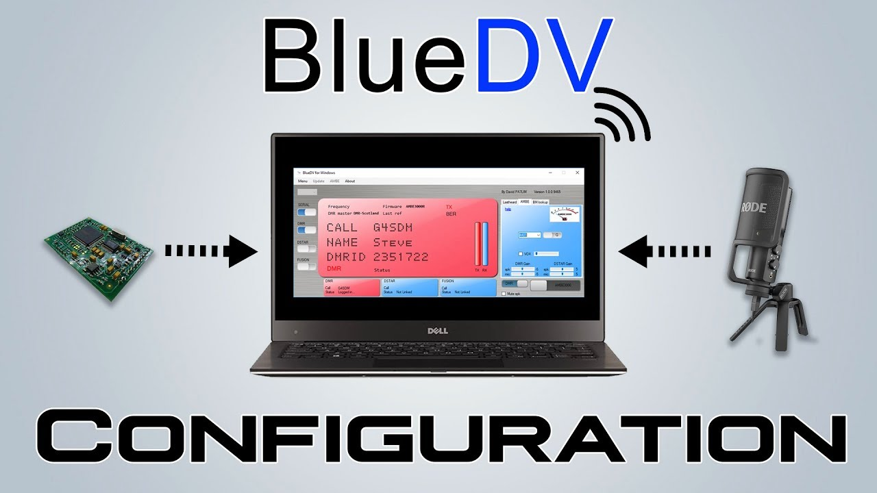 bluedv-windows | David PA7LIM
