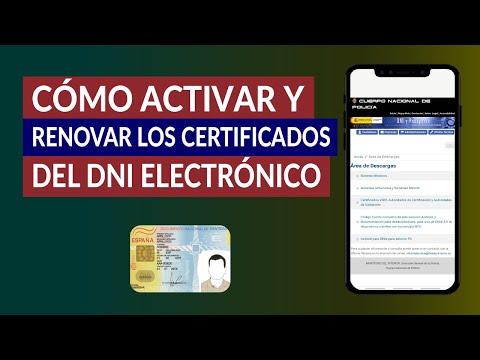 ¿Cómo Activar y Renovar los Certificados del DNI Electrónico? - Paso a Paso