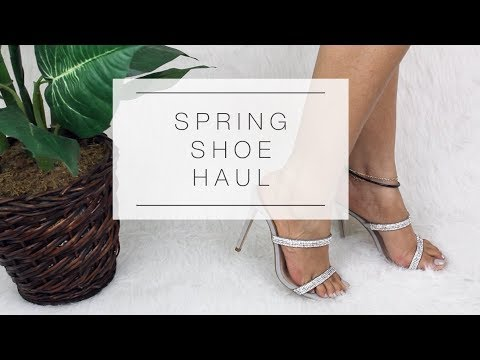 46bb5686bbd SPRING SHOE HAUL 2019