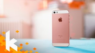 Die Steve Jobs Edition: iPhone SE Review!