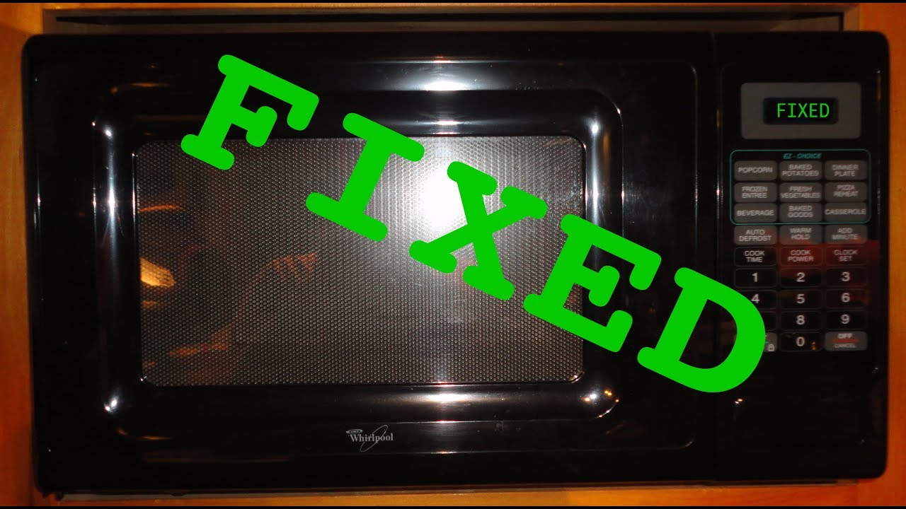 How To Troubleshoot and Repair a Microwave Oven