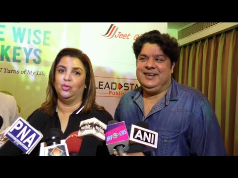 Farah Khan And Sajid Khan Funny Interview Together