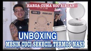 UNBOXING MESIN CUCI SEKECIL TERMOS NASI (MITO WM 1) MP3