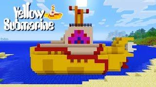 Minecraft: How To Make The Beatles Yellow Submarine