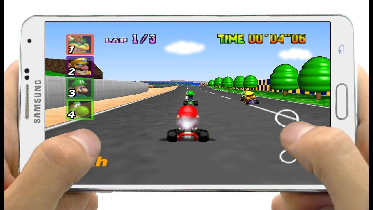 Descarga El Super Juego De Mario Kart Para Android Mario Kart 64