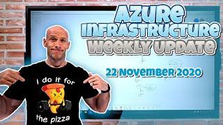 Azure Weekly Update - 22 November 2020