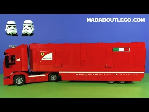 lego scuderia ferrari truck f14 t 75913 youtube. Black Bedroom Furniture Sets. Home Design Ideas