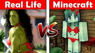 Realistic Minecraft Movie 2018 L Best Minecraft In Real Life