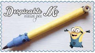 Despicable me minion pen | Polymer Clay Tutorial