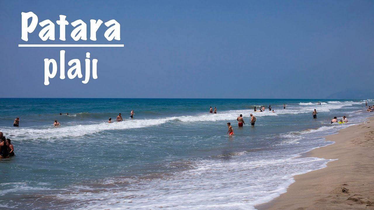 Patara Plajı (Patara Beach - Kaş/Antalya) - YouTube