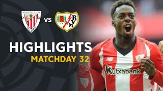 Highlights Athletic Club vs Rayo Vallecano (3-2)