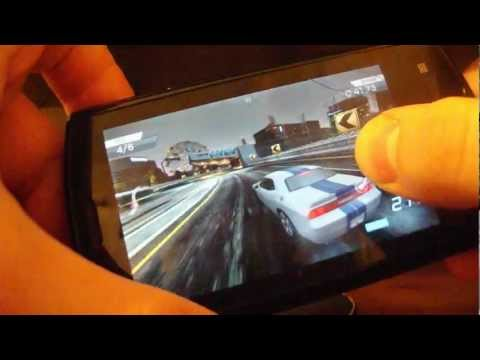 NFS Most Wanted Acer Liquid E