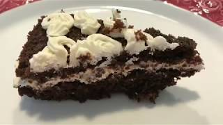 # 26 Super Moist Chocolate Cake / Cream Cheese Frosting