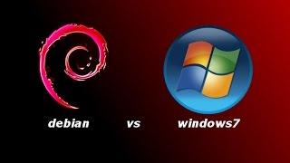debian vs windows 7 (кто меньше жрет)(, 2017-05-04T21:16:48.000Z)
